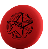 Фрисби для детей Discraft J★Star Red